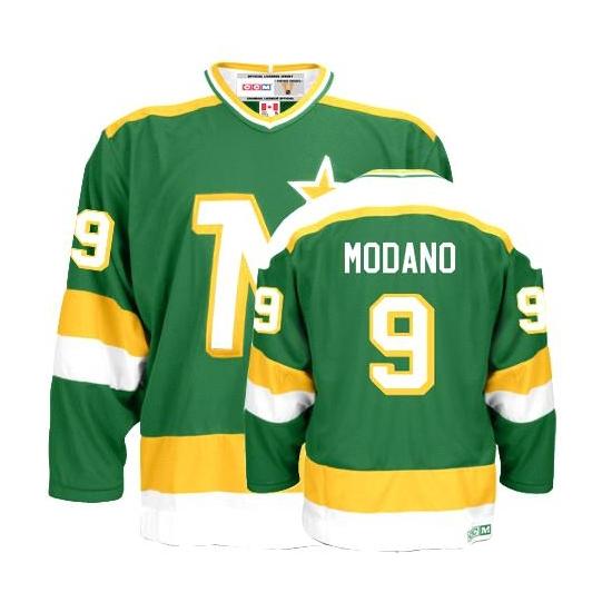 meet 156a7 d6553 CCM Dallas Stars Mike Modano Green Authentic Throwback ...