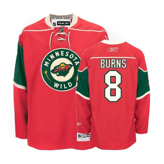 info for 596ee afbbd Reebok EDGE Minnesota Wild Brent Burns Red Authentic ...