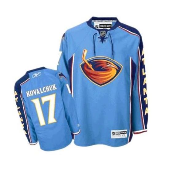 Ilya Kovalchuk Blue Authentic Jersey  2e44fa318