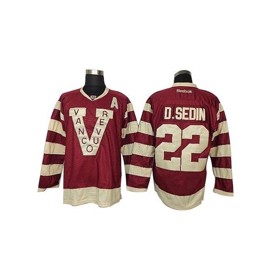 Daniel Sedin Red Premier Jersey  39f4aae44